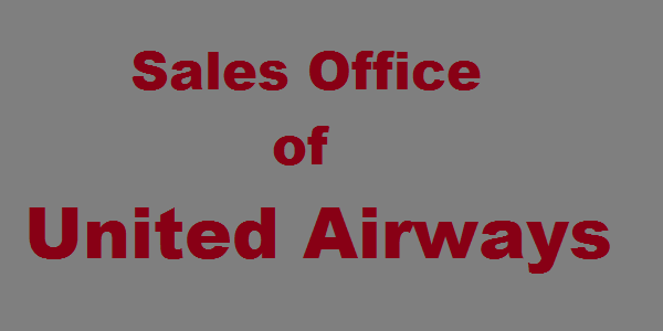 United Airways Sales Office in Bangladesh