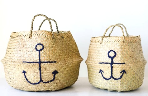 Anchor Wicker Baskets
