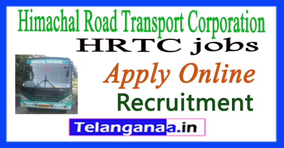 Himachal Road Transport Corporation HRTC Recruitment Notification 2017 Apply