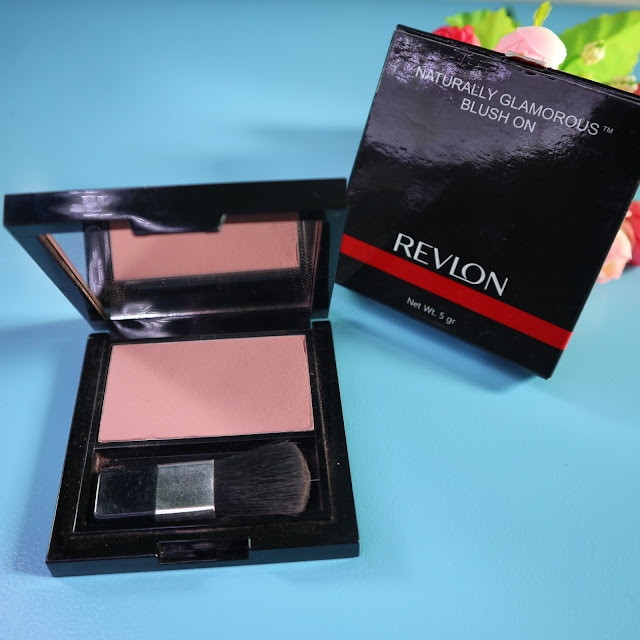 Revlon Natural Glamorous Blush On Shade Soft Spoken Pink