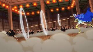 ワンピースアニメ 990話   百獣海賊団 飛び六胞 うるティ ルフィ   ONE PIECE Beasts Pirates Ulti vs Luffy