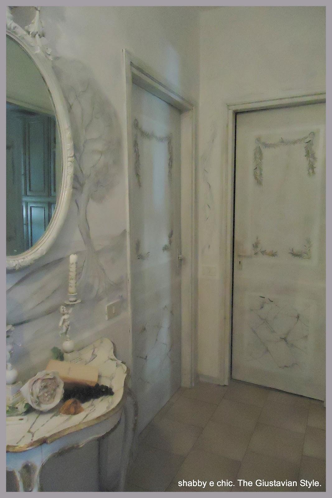 MarziaSofia Salvestrini Atelier Gustavien Ricetta come trasformare le porte di casa con un