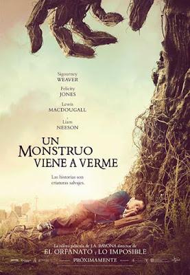 """""""Un monstruo viene a verme"""" (Juan Antonio Bayona, 2016)"""