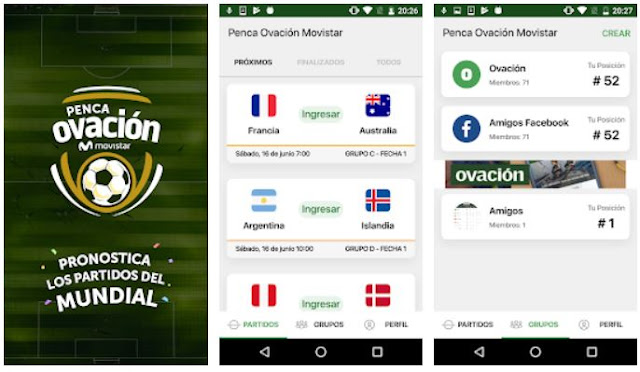 Download & Install Penca Ovación Movistar Mobile App