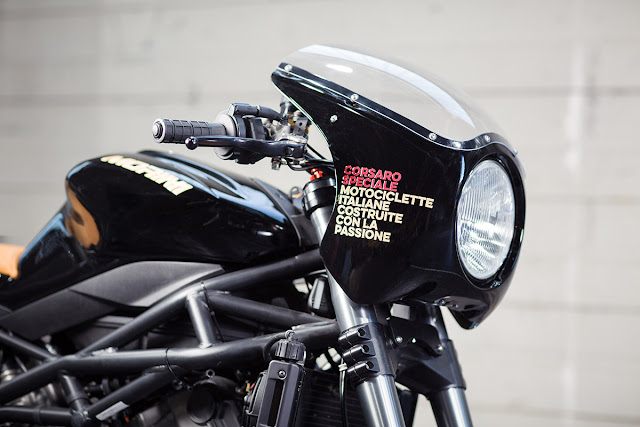 Moto Morini By Mr. Martini Hell Kustom