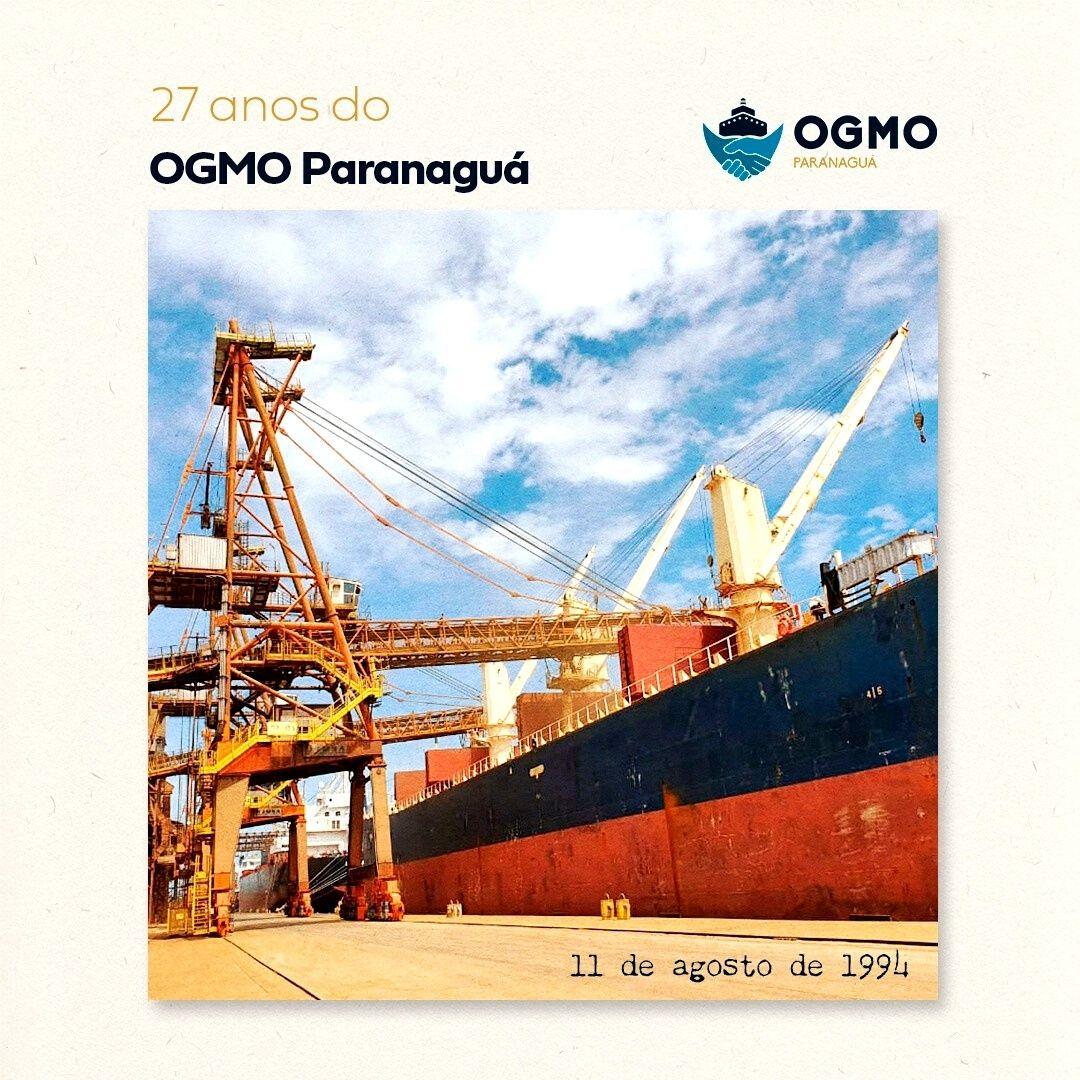 OGMO Paranaguá comemora 27 anos de atividades