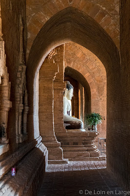 Temple Pya-Tha-Da - Bagan - Myanmar - Birmanie