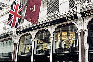 英国便り: ロンドンの宝石店 ア...