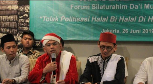 Aksi Halal Bihalal di Gedung MK Berbau Kepentingan, Forum Da'i Muda Kecam Politisasi Agama