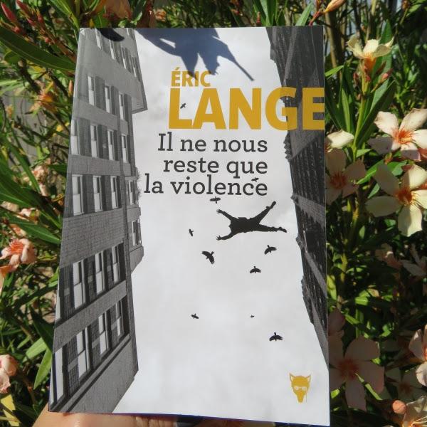 Il ne nous reste que la violence de Éric Lange