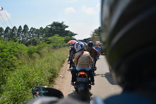 pengalaman touring motor Bandung-Lampung-Bandung adalah hal paling berkesan. Rute dari Bandung ke Lampung sampai Pringsewu bisa dibaca di sini ya...