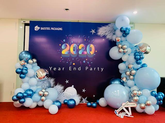 Trang trí tiệc Year End Party tại Hà Nội