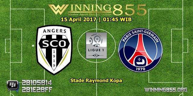 Prediksi Skor Angers vs PSG 15 April 2017
