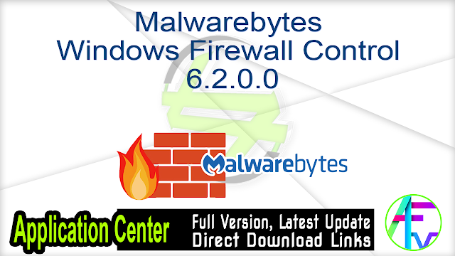 Malwarebytes Windows Firewall Control 6.2.0.0