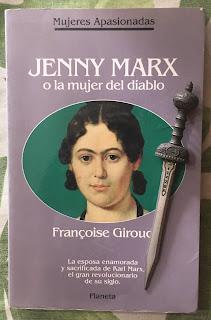 Portada del libro Jenny Marx o la mujer del diablo, de Francoise Giroud
