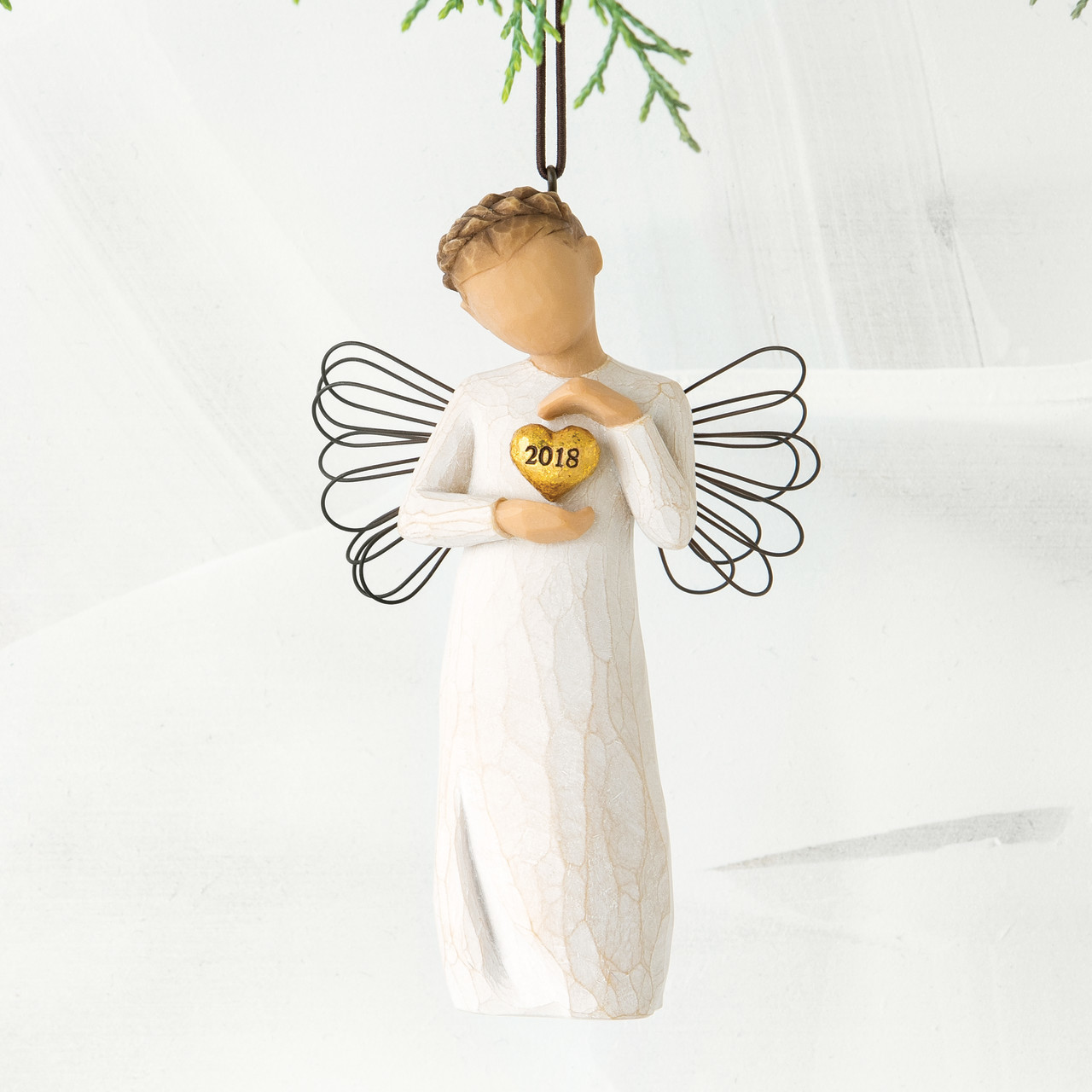 Willow Tree 2018 Angel Ornament