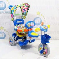 royal sepeda roda tiga 2 kursi