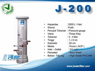 FIlter Air J200 Tangerang