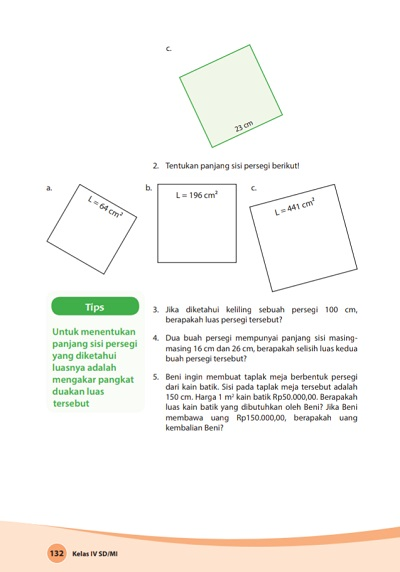 kunci jawaban buku senang belajar matematika kelas 4 kurikulum 2013 revisi