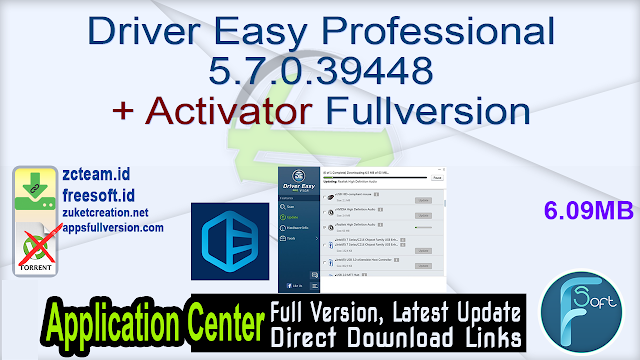 Driver Easy Professional 5.7.0.39448 + Activator Fullversion