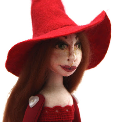 connie the crimson witch art doll