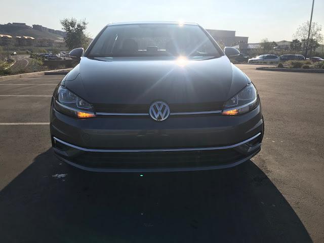 Front view of 2020 Volkswagen Golf TSI