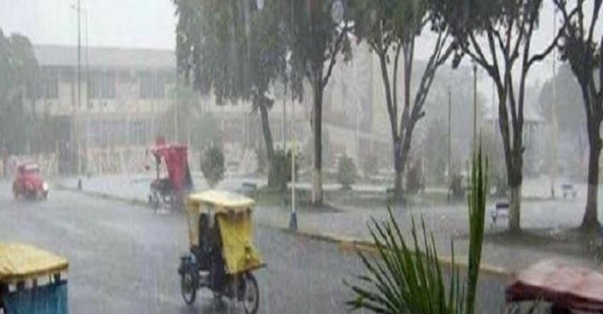 SENAMHI alerta de nuevo periodo de lluvias moderadas a fuertes en la Selva y Sierra del Perú - www.senamhi.gob.pe