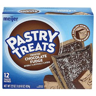 Stock image for Meijer Chocolate Fudge Toasted Tarts