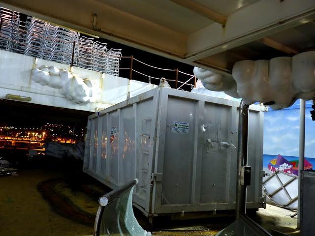 P1180157 - Primeiras imagens do Costa Concordia depois de ser resgatado em 2014