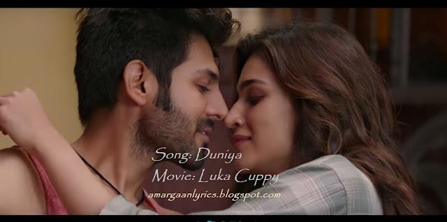 duniya lyrics - luka chupy | Kartik Aaryan