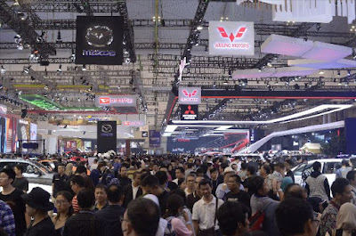 Semarak akhir minggu di GAIKINDO Indonesia International Auto Show 2019