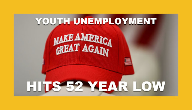 Memes: MAGA YOUTH UNEMPLOYMENT HITS 52 YEAR LOW