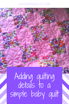 Quick and easy flannel baby quilt