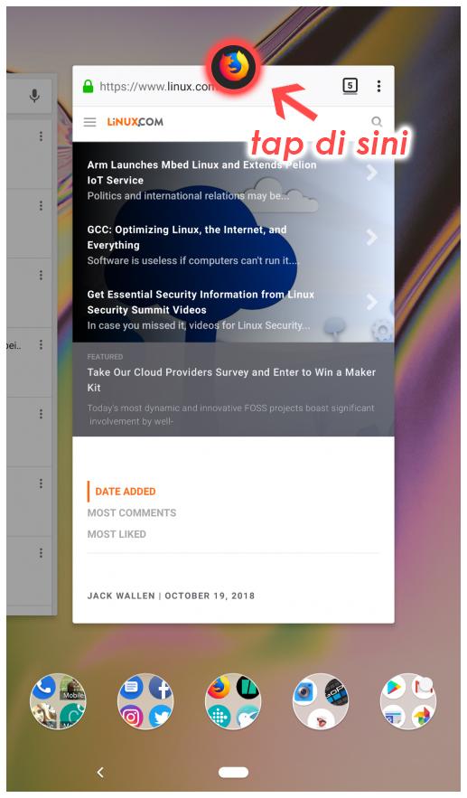 Cara menggunakan Split Screen pada Android Pie | Tutorial