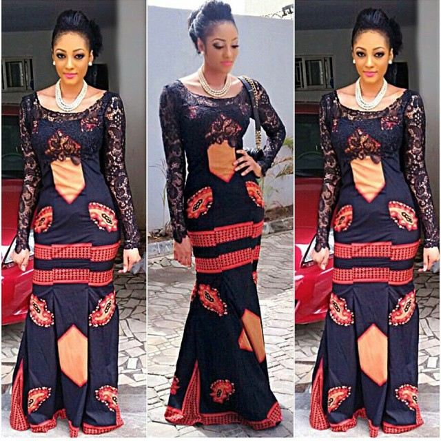 Beautiful Ankara Gown Combinations Design | Fashion Style Nigeria