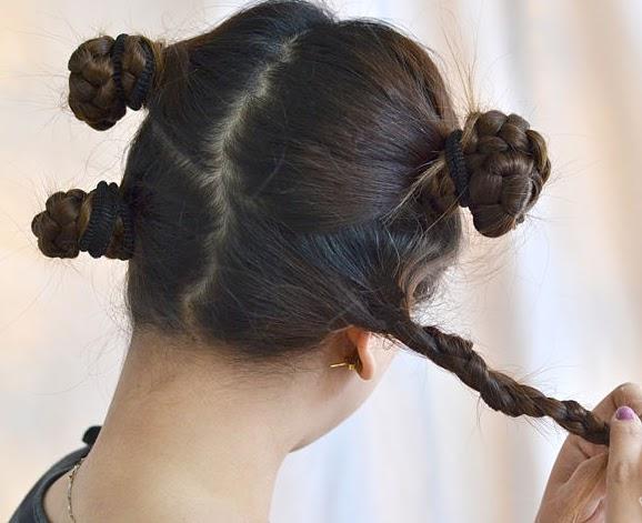 Ondular el pelo corto sin calor