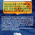Reunião setorial abordará o Plano de Saneamento Básico de Jaguarari