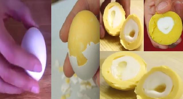INILAH Cara Unik Rebus Telur agar Bagian Kuningnya Berada di Luar Ternyata Mudah Banget Lho !