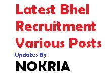 bhel recruitment 2018 bhel trade
