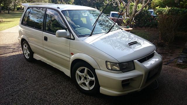 Mitsubishi RVR, japońskie minivany