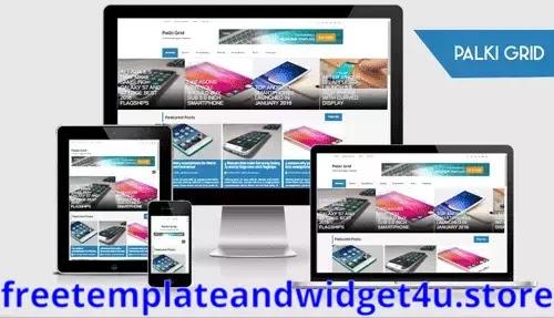 Palki Grid Blogger Template Free Download Paid Version.