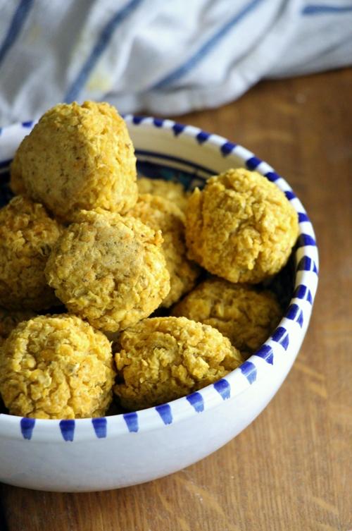 Linsen - Hirse - Bällchen, vegan und glutenfrei