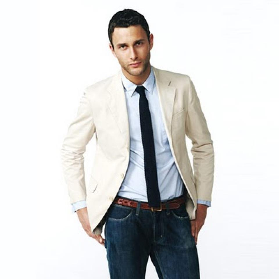 Ella Mo's Blog: Real men wear the Skinny & Woven Ties....