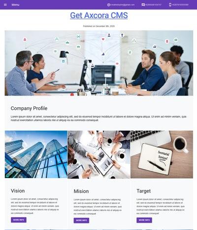 pembuatan website company profile murah