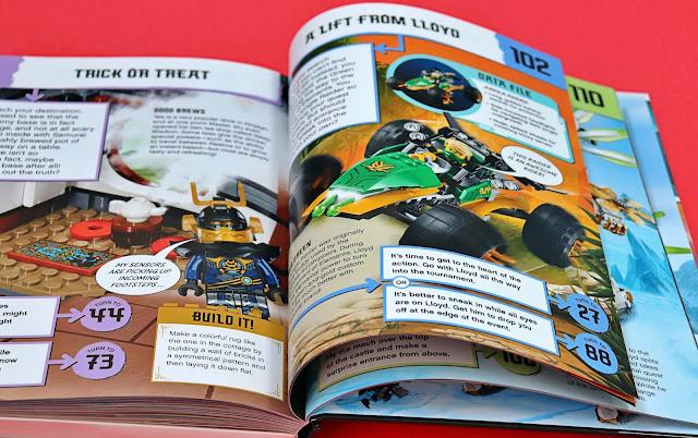DK LEGO books ninjago