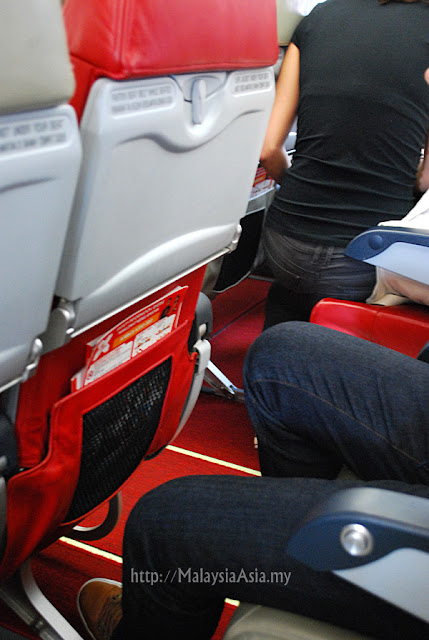 Seating Legroom AirAsia X