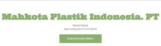 Lowongan Kerja di PT. Mahkota Plastik Indonesia Mojokerto Surabaya April 2019
