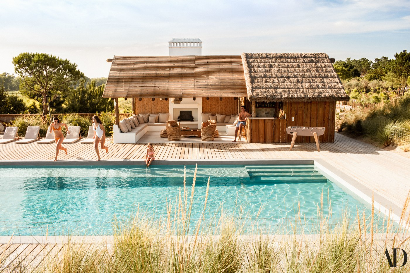 Décor Inspiration: A Relaxed & Wicker-Filled Home in Comporta, Portugal