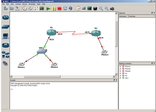 Graphic Network Simulator (GNS3)