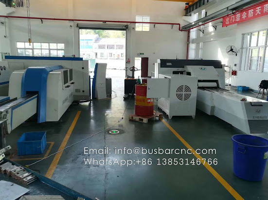 copper busbar shearing punching machine